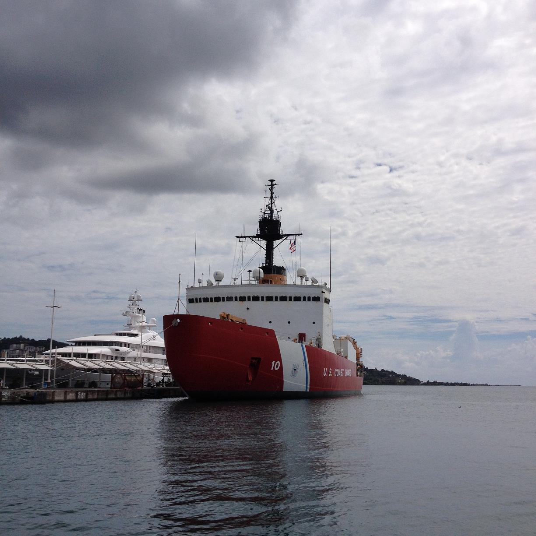 United States Coast Guard Our Organization Area Cutters CGC